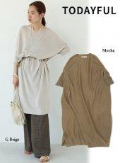 TODAYFUL (トゥデイフル)<br>Dolman Knit Dress  19秋冬【11920319】マキシワンピース