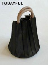 TODAYFUL (トゥデイフル)<br>Circlehandle Pleats Bag  19秋冬予約【11921021】ハンド・ショルダーバッグ