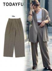 TODAYFUL (トゥデイフル)<br>Centerpress Trousers  19秋冬予約【11920705】パンツ