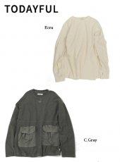 TODAYFUL (トゥデイフル)<br>Boyfriend Pocket Pullover  19秋冬予約【11920618】Tシャツ