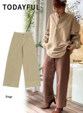 TODAYFUL (トゥデイフル)<br>Serge Widehem Pants  19秋冬【11920707】パンツ TODAYFUL20 sale