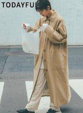 TODAYFUL (トゥデイフル)<br>Soutiencollar Over Coat  19秋冬【11920002】トレンチコート