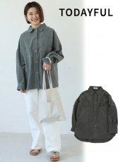 TODAYFUL (トゥデイフル)<br>Brush Boyfriend Shirts  19秋冬【11920401】シャツ・ブラウス