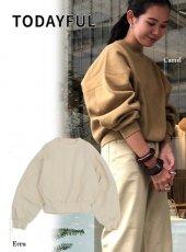 TODAYFUL (トゥデイフル)<br>Heavycotton Dolman Sweat  19秋冬【11920614】スウェット・パーカー
