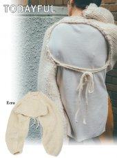 TODAYFUL (トゥデイフル)<br>Lowgauge Sleeve Knit  19秋冬【11920514】ニットトップス