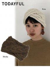 TODAYFUL (トゥデイフル)<br>Wool Hair Turban  19秋冬予約【11921024】帽子