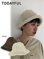 TODAYFUL (トゥデイフル)<br>Wool Tulip Hat  19秋冬予約【11921027】帽子