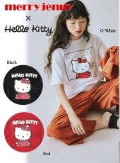 merry jenny (メリージェニー)<br>CHIC-ish KITTY Tee  19秋冬【281942701201】Tシャツ