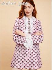 sister jane(シスタージェーン)<br>Wild Horse Rufflle Mini Dress  19秋冬【20SJ0DR1096】フレアワンピース