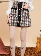 sister jane(シスタージェーン)<br>Mini Skirt in Tweed  19秋冬予約【20SJ0SK333】タイトスカート