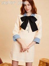 sister jane(シスタージェーン)<br>Retro Tweed Mini Dress  19秋冬【20SJ0DR1110】タイトワンピース