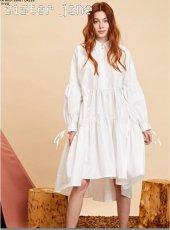 sister jane(シスタージェーン)<br>Shimmer Oversized Shirt Dress   19秋冬【20SJ0DR1111】フレアワンピース