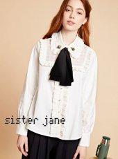 sister jane(シスタージェーン)<br>Tortoise Bow Blouse  19秋冬【20SJ0BL857】シャツ・ブラウス