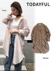 TODAYFUL (トゥデイフル)<br>Pocket Long Shirts  19秋冬予約【11920413】シャツ・ブラウス