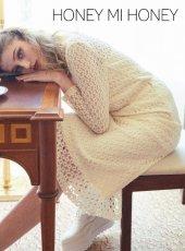 Honey mi Honey (ハニーミーハニー)<br>knit lace mermaid skirt  19秋冬予約【19A-TA-23】