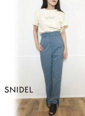 snidel(スナイデル)<br>ストレートカラーパンツ  19秋冬【SWFP194131】パンツ