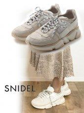 snidel(スナイデル)<br>オリジナルスニーカー  19秋冬予約【SWGS194626】スニーカー