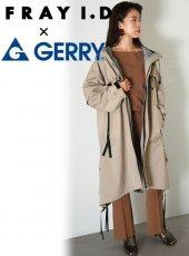 FRAY I.D (フレイアイディー)<br>GERRY ロングフードジャケット  19秋冬【FWFC194201】ジャケット