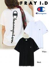 FRAY I.D (フレイアイディー)<br>バックロゴTシャツ  19秋冬【FWCT194005】Tシャツ