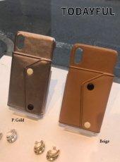TODAYFUL (トゥデイフル)<br>Cardpocket i-phone Case  19秋冬.【11921081】iPhone・iPadケース iPhoneX/XS