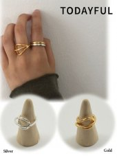 TODAYFUL (トゥデイフル)<br>Solid Line Ring (Silver925)  19秋冬.予約【11920957】リング 受注会