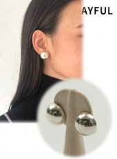 TODAYFUL (トゥデイフル)<br>Ball Earring (Silver925)  19秋冬.予約【11920960】ピアス・イヤリング 受注会