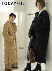 TODAYFUL (トゥデイフル)<br>Quilting Down Coat  19秋冬.予約3【11920007】ダウン