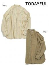 TODAYFUL (トゥデイフル)<br>Standcollar Raglan Shirts  19秋冬.予約【11920420】シャツ・ブラウス 受注会