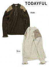 TODAYFUL (トゥデイフル)<br>Vintage Commando Knit  19秋冬.予約【11920529】ニットトップス 受注会
