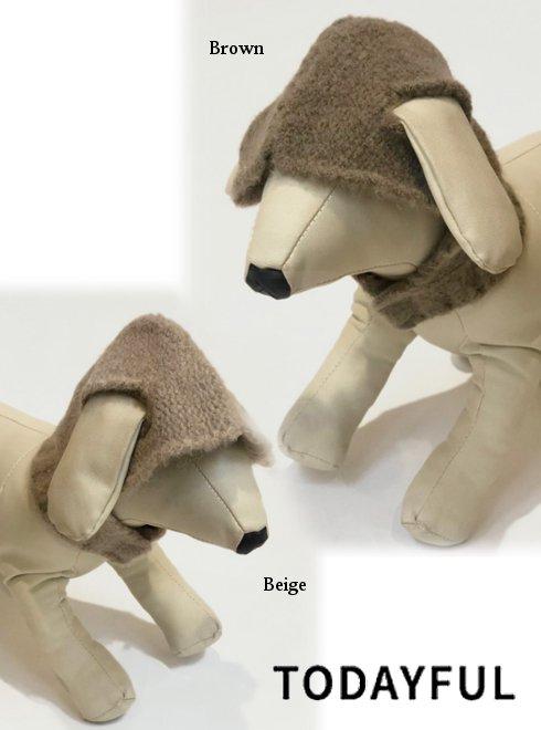 TODAYFUL (トゥデイフル)<br>Dog Knit Hoodie  19秋冬.【11921053】その他