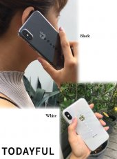 TODAYFUL(トゥデイフル)<br>Clear Logo iPhone Case  19秋冬【11921055】iPhone・iPadケース iPhoneX/XS