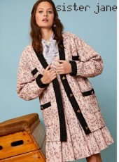 sister jane (シスタージェーン)<br>First Place Tweed Cardigan  19秋冬.【20SJ0CG008】カーディガン