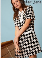 sister jane (シスタージェーン)<br>Decider Tweed Mini Dress  19秋冬.予約【20SJ0DR1116】タイトワンピース
