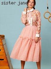 sister jane (シスタージェーン)<br>Winner Midi Skirt  19秋冬.【20SJ0SK338】フレアスカート