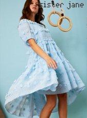 sister jane (シスタージェーン)<br>Winner Baby Doll Dress  19秋冬.【20SJ0DR1121】フレアワンピース