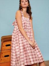 sister jane (シスタージェーン)<br>Play Off Multi-Way Pinafore Dress  19秋冬.【20SJ0DR1133】フレアワンピース