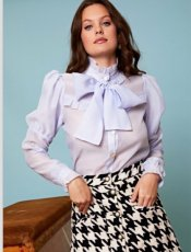 sister jane (シスタージェーン)<br>Decider Tweed Mini Skirt  19秋冬.【20SJ0SK339】フレアスカート