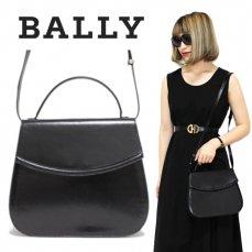 BALLY バリー ヴィンテージ<br>2WAYレザーショルダー/ハンドバッグ【vintage By RiLish】ランクBAショルダーバッグ