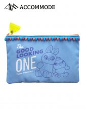 ACCOMMODE (アコモデ)<br>TOY STORY4 Carnival Pouch  19秋冬 ダッキー&バニー【YY-P002-1】ポーチ
