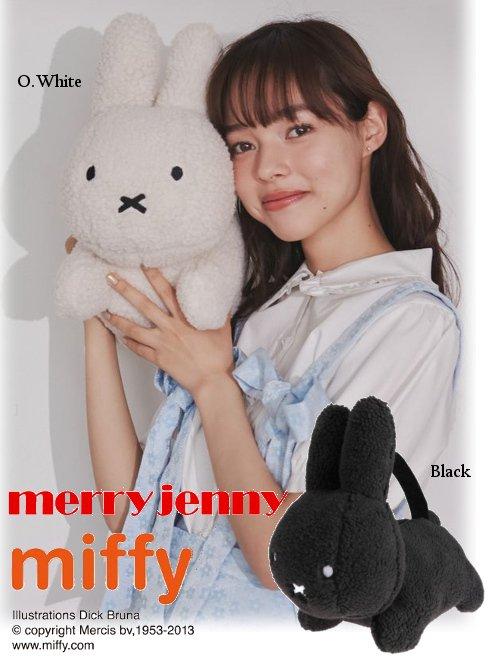 merry jenny (メリージェニー)<br>うさぎさんのバッグ  21春夏. 【281951903201 2821419007】ハンド・ショルダーバッグ Miffy