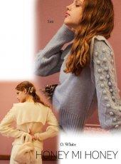 Honey mi Honey (ハニーミーハニー)<br>sailor knit pullover  19秋冬.【19A-SW-07】ニットトップス
