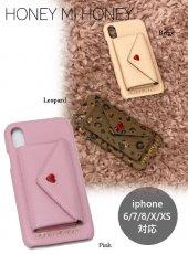Honey mi Honey (ハニーミーハニー)<br>letter iPhonecase  19秋冬.予約【19A-GB-23】iPhone・iPadケース iPhone6/7/8/X/XS