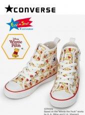 converse(コンバース)<br>CHILD ALL STAR N POOH PT Z HI プーさん  19秋冬.【37300070】バッグ・シューズ