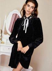 sister jane (シスタージェーン)<br>Sparkle Velvet Coven Dress  19秋冬.【20SJ02DR1157】フレアワンピース  クリスマス