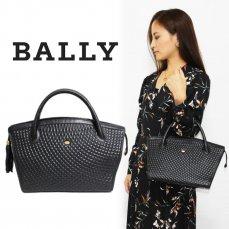 BALLY バリー ヴィンテージ<br>キルティングタッセルハンドバッグ【vintage by RiLish】ランクBハンド・ショルダーバッグ