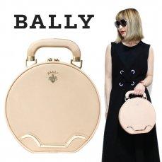 BALLY バリー ヴィンテージ<br>バニティ丸型ハンドバッグ【vintage by RiLish】ランクBA