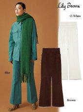 Lily Brown (リリーブラウン)<br>ウールライクコットンパンツ  19秋冬.【LWFP195053】パンツ Lily Brown20 sale