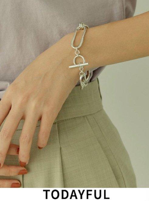 TODAYFUL (トゥデイフル)<br>Twist Chain Bracelet  21春夏予約2【12010913】ブレスレット・アンクレット  入荷時期:4月中旬