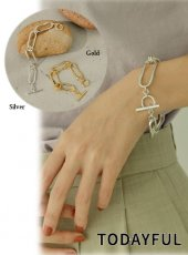 TODAYFUL (トゥデイフル)<br>Twist Chain Bracelet  20春夏2【12010913】ブレスレット・アンクレット