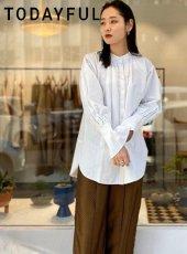 TODAYFUL (トゥデイフル)<br>Standcollar Vintage Shirts  20春夏【12010407】シャツ・ブラウス